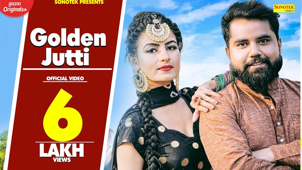 Golden Jutti   Aarzoo Dhillon   Sunny Chaudhary   New Haryanvi Songs Haryanavi 2020   Sonotek Video,Mp3 Free Download