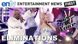 """Christina And Cee Lo Perform """"Make The World Move"""" & Top 12 Eliminations: The Voice Live Rounds"""