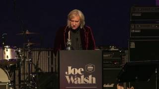 Electronic Press Kit for Founders Award 2016 honoring Joe Walsh