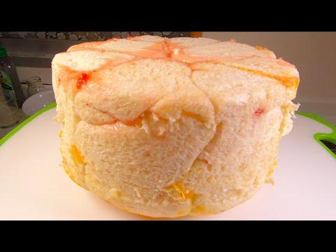 , title : '草莓面包的超简单做法!不用揉面,不用烤箱,不用机器,劲道拉丝像棉花似的绵软内心,再加上草莓酱的酸甜,真是越嚼越香,让人爱不释口,太好吃