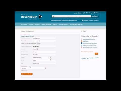 Online Bestellen leicht gemacht - so bestellen Sie Ihr Buch bei RavensBuch im Webshop