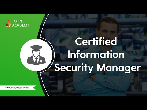 Certified Information Security Manager (CISM) - Complete Video ...