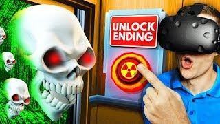Unlocking EVERY ACHIEVEMENT To Open SECRET DOOR (Floor Plan VR Funny Gameplay)