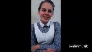 Alicia von Rittberg - Charité TV-Produktion - Interview 2015