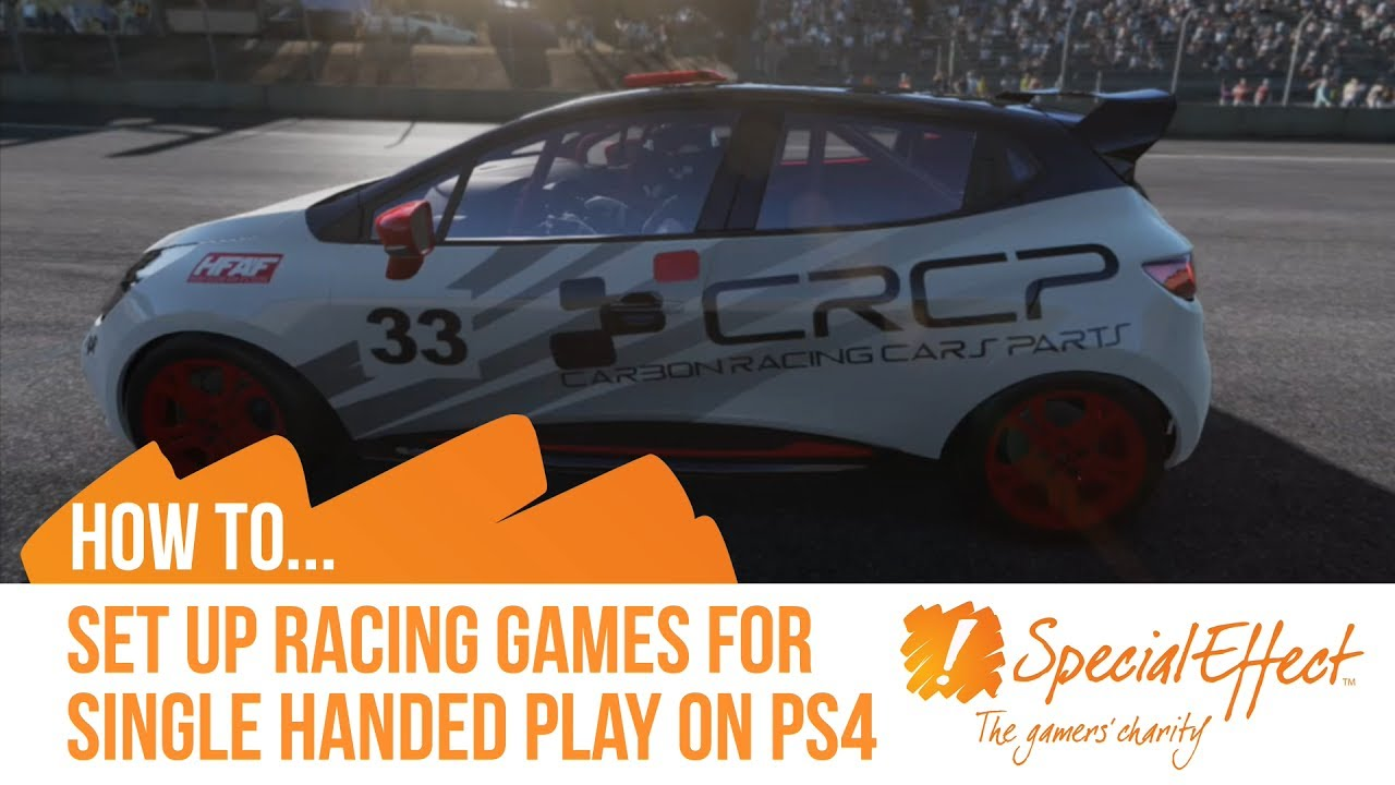 video placeholder for Single Handed PS4 Racing Setup | How to... Video