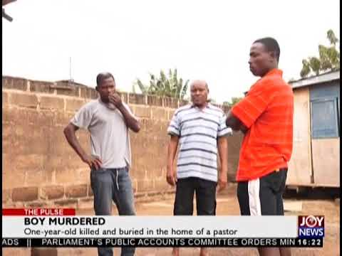 Boy Murdered - The Pulse on JoyNews (4-9-18)