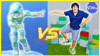FORTNITE DANCE CHALLENGE In Real Life All Dances!!!