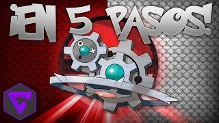 Klinklang  - (Pokémon) - POKÉMON: ¡KLINKLANG EN 5 PASOS! (New)