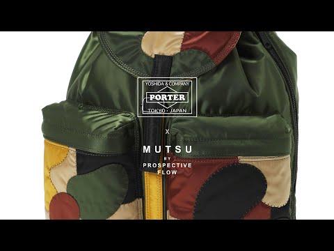 Jungle Camo Rucksack / PORTER x MUTSU Final Episode