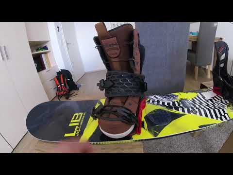 SALOMON Hologram Snowboard Bindings review