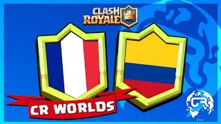 COUPE DU MONDE CLASH ROYALE : FRANCE vs COLOMBIE