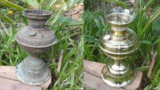 Antique Brass Lantern Restoration