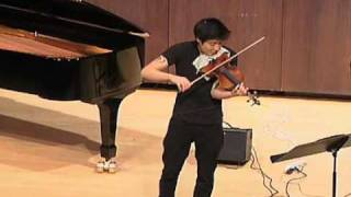 Charles Yang - Motion for Solo Violin - Original Composition - Live