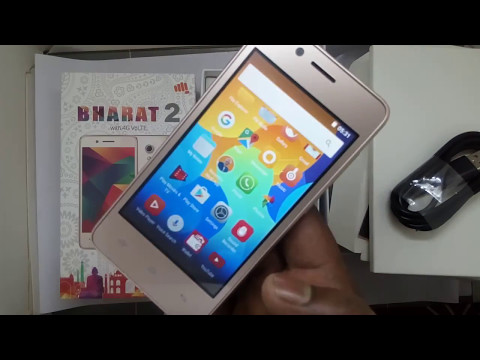 micromax bharat 2 Unboxing and  review