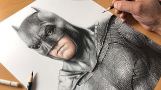 Drawing Batman - Timelapse | Artology