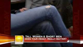 "Tall 6'4"" woman and 5' man on Today Show"
