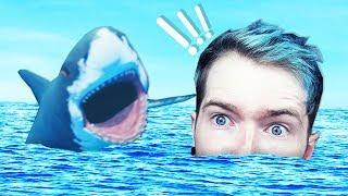 DANTDM vs THE OCEAN!!! (Raft)