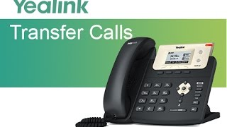 Yealink T21P E2: Call Transfer