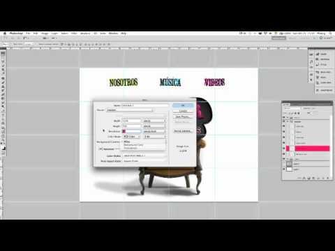 Diseño de una página web desde Photoshop 1