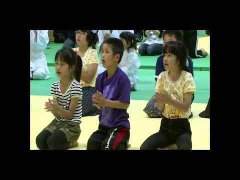 合氣道和光道場佐渡支部 新穂小学校合氣道体験