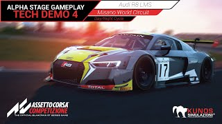 Assetto Corsa Competizione Gameplay - Audi R8 LMS @ Misano - Day/Night Cycle AI Race