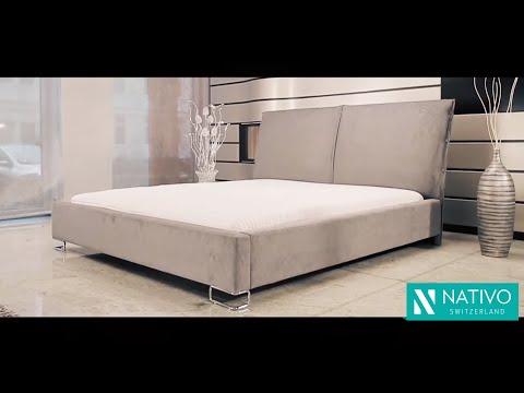 Nativo Möbel Schweiz - Designer Bett MARBELLA