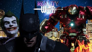 BATMAN vs IRON MAN | JOKER & SPIDER-MAN | 3D Animated Short | REALITY WAR EP. 1