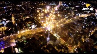 Салют в День города в Новосибирске 28 июня 2015