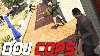 Dept. of Justice Cops #55 - Police Attacks (Criminal)