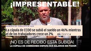 "¡LA CÚPULA DE CCOO, ""CAZADA"" EN UN ESCANDALAZO INFUMABLE!"