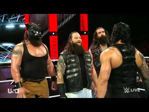 Download WWE the wyatt family VS Roman  and dean ambrose HD Mp4 3GP Video and MP3