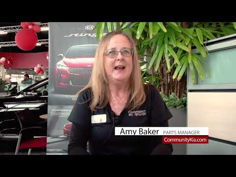 Parts Manager Amy Baker