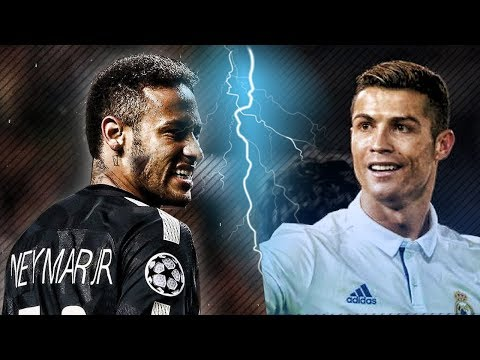 C.Ronaldo vs Neymar Jr. ● MANS NOT HOT ● Crazy Goals and Skills 2018