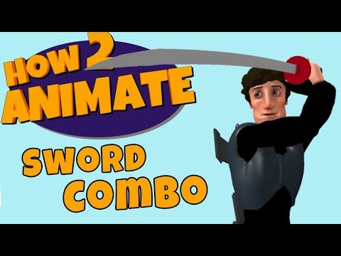 How to animate a Basic Sword Combo Attack | 3D Maya Animation Tutorial | HOW 2 ANIMATE