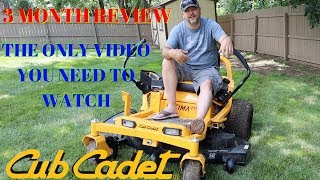 Cub Cadet ULTIMA ZT1 Zero Turn Lawn Mower   3 Month Review   Pros and Cons