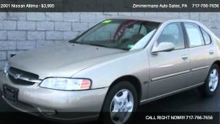 2001 Nissan Altima GXE - for sale in Mechanicsburg, PA 17055