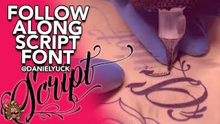 Follow Along Episode 2 Script Font