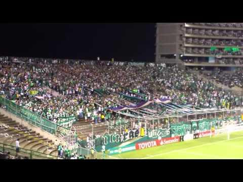 """Deportivo Cali 2 - 2 racing club (Cali pachanguero)"" Barra: Frente Radical Verdiblanco • Club: Deportivo Cali"
