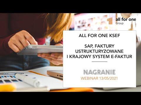 SAP, faktury ustrukturyzowane i Krajowy System e-Faktur