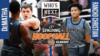 DeMatha vs. Rancho Christian - 2020 Hoophall Classic - ESPN Broadcast Highlights