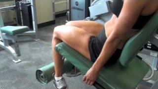 Calgary Fitness Tutorials: Leg Extensions