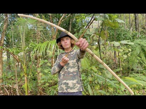 Survival Tactics: Survival BOW & ARROW Build (How to Make)