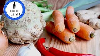 Gemüsebrühe selber machen | gesund und lecker!!