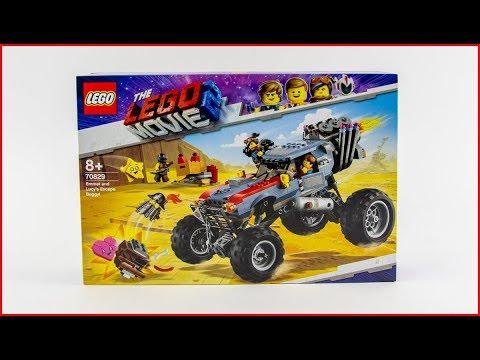 Vidéo LEGO The LEGO Movie 70829 : Le buggy d'évasion d'Emmet et Lucy !