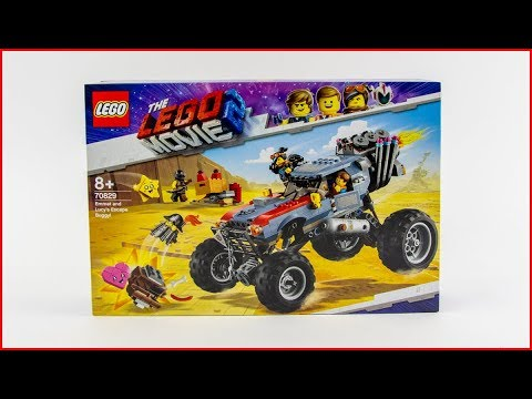 LEGO MOVIE 2 70829 Emmet and Lucy's Escape Buggy! Construction Toy - UNBOXING