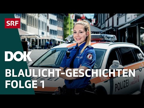 Unterwegs mit der Polizei - Start in der Polizeischule | Doku | SRF Dok