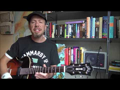 How to Play Over Sus Chords (Jazz Guitar Lesson 85)
