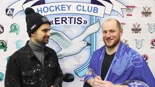 Нападающий ХК «Иртыш» Андрей Демидов прокомментировал пятый матч 1/4 ПЛЕЙ-ОФФ против команды «Темиртау»