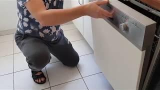 Spülmaschine hält die Klappe nicht. (Constructa)