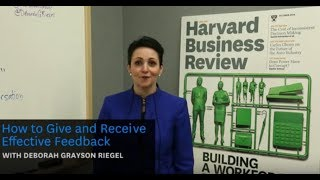 How to Give and Receive Effective Feedback